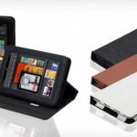 Kindle Fire Splash Signature Folio Case in Black, White, or Brown for just $15!