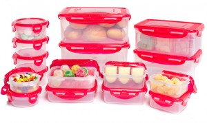 Lock Lock 32 Piece Food Storage Container Set BPA Free With