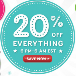 Mattel's After Hours sale:  save 20% off your total purchase + get FREE shipping!