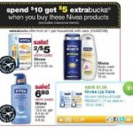 Printable Coupon Alert:  Possible FREE Nivea at CVS next week!