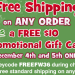 Oriental Trading:  FREE SHIPPING + $10 gift card offer!