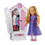 Our Generation Doll Bundle (doll, armoire, 2 outfits) – $42 shipped (47% off!)