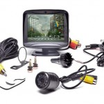 Rear View Safety Car Camera System With 3.5″ LCD Monitor & 120 Degree Night Vision Camera for $39.99!