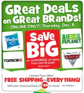 Toys R Us Online Only Sale Bonus Offers 7 Cash Back
