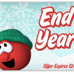 Veggie Tales End of Year Sale:  up to 40% off on CDs, DVDs, and more!