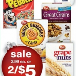 Printable Coupon Alert:  Honey Bunches of Oats $1.50 each at Walgreens next week!