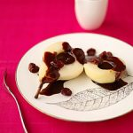 Tasty Treat Tuesday: Baked Pears in a Cherry and Chocolate Sauce