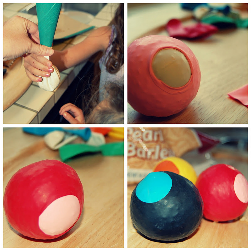 Kid S Craft Balloon Bean Bags
