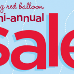 Gymboree's Big Red Balloon Sale:  Save up to 70% in stores and online!