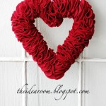 30 Days of Valentine's Fun Day #6: Valentine Heart Wreath
