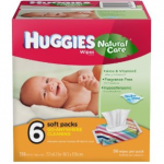 Huggies Natural Care Baby Wipes $.02 per wipe shipped!