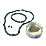 Ladies Freshwater Jewelry Set Designed In Sterling Silver for just $12 (85% off!) + enter to win a $250 shopping spree!