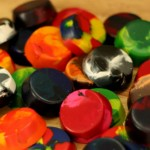 Kid's Craft: Recycling Old and Broken Crayons
