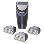 HOT DEAL ALERT:  Remington Cordless Shaver with 4 Disposable Replacement Blades for $13.99 shipped (60% off!)