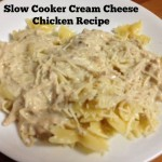 Slow Cooker Monday:  Cream Cheese Chicken