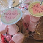 30 Days of Valentine's Fun: Valentine Smores Gift Bags
