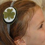 St. Patrick's Day Craft: Shamrock Headband