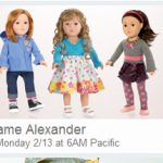 HOT DEAL ALERT:  Madame Alexander Dolls up to 67% off!