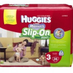 Huggies Slip-Ons Diapers only $5.99 at Walgreens this week!