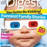 Get a one year subscription to Reader's Digest Magazine for just $3.99 (today only)