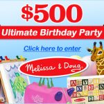 SWEEPS:  Win a $500 Melissa & Doug shopping spree!