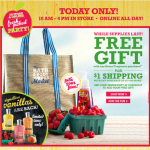 FREEBIE ALERT:  Bath & Body Works FREE gift with purchase!