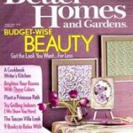 FREEBIE ALERT:  one year subscription to Better Homes & Gardens Magazine!