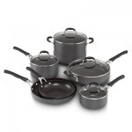 HOT DEAL ALERT: 10-piece Cooking with Calphalon Hard-Anodized Cookware Set for $128 shipped + get Kohl's cash!