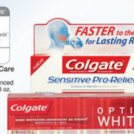 Colgate Total Advanced Toothpaste coupon:  $1.50 each at Walgreens!