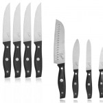 Emeril Professional Stainless Steel 4 Piece Kitchen Knife Set or Jumbo 4 Piece Steak Knife Set for $14.99 (84% off)
