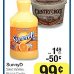 FREEBIE ALERT:  Country Crock free after coupon at Kroger!