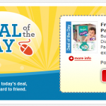Kroger Daily Deal:  FREE Wipes when you buy Pampers diapers plus printable coupons!
