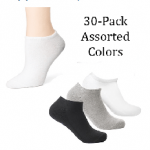 HOT DEAL ALERT:  30 pairs of men's or women's socks for just $15.99 shipped!