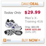 Men's New Balance Cross Trainers for just $29.99!