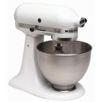 KitchenAid K45SS Classic 250-Watt 4-1/2-Quart Stand Mixer, White for $147.99 shipped!