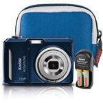 Kodak EasyShare C1550 16MP Digital Camera Bundle for $49!