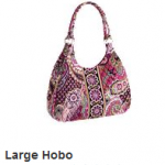 Vera Bradley SECRET sale:  prices start at $3.99!