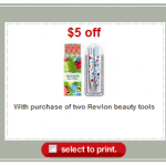 FREEBIE ALERT:  FREE Revlon Beauty Tools at Target!