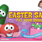 HOT DEAL ALERT:  Veggie Tales gifts as low as $4.97 plus 25% off!
