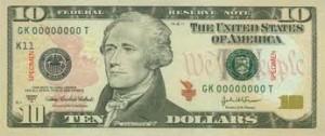 $10-cash