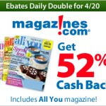Get All You Magazine for as low as $.79 per issue after cash back!