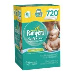 Pampers SoftCare Baby Fresh Wipes 10X Wipes 720 Count for $14.29 shipped!