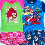Angry Birds PJs for girls and boys for just $12.50!