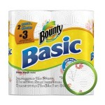 Bounty Basic Paper Towels for $.93 per roll shipped!