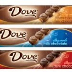 Dove Singles candy bars $.47 each after coupons!