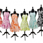 DEAL ALERT:  Felicia Damask aprons only $12.99 shipped!