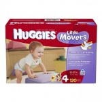 Amazon Diaper Deals:  Huggies Little Movers as low as $.23 per diaper shipped!