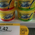 DEAL ALERT:  I Can't Believe It's Not Butter for $1.17 after coupon!