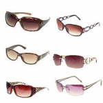 Women's Branded Sunglasses (9 pairs) only $9.99!