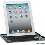 Logitech iPad 2 Keyboard & Carry Case With Bluetooth, Aluminum Frame and Shortcut Keys for $19.99!